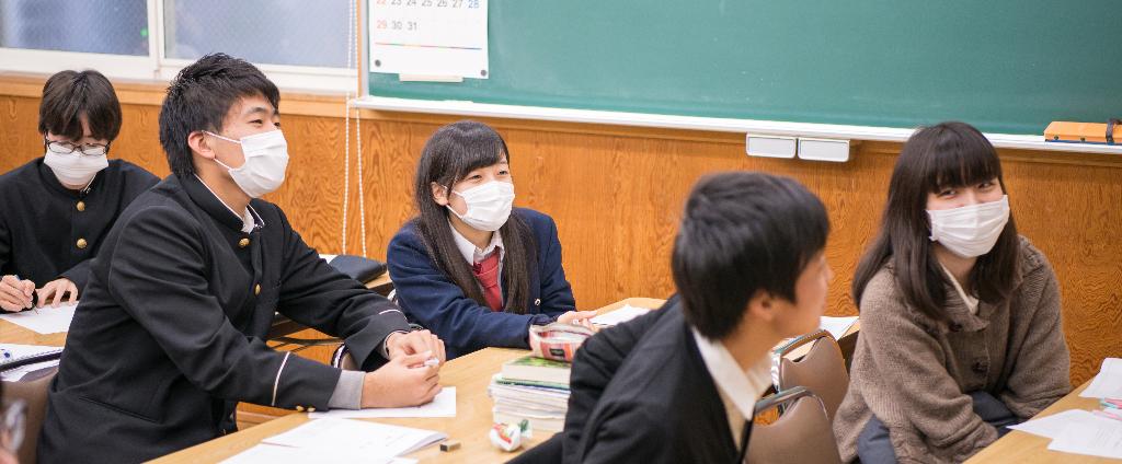 考和塾生徒たち